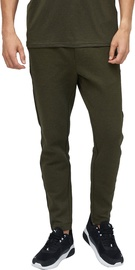 Audimas Mens Cotton Tapered Fit Sweatpants Olive 184/M