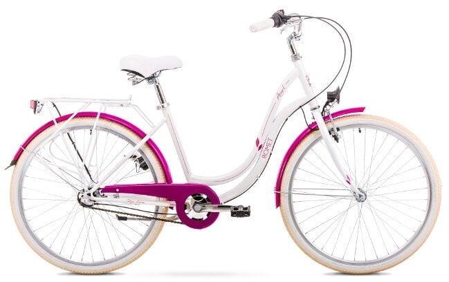 """Велосипед Romet Angel 3 White/Pink, 19"""", 26″"""