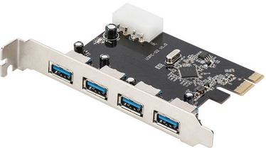 Digitus 4-Port USB 3.0 PCI-E Card