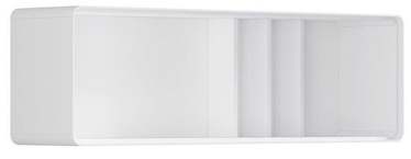 Black Red White Possi Light Cupboard 130x40cm White