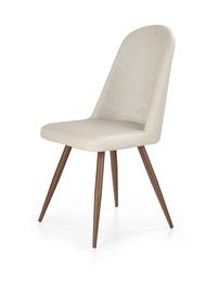 Ēdamistabas krēsls Halmar K214 Dark Cream/Antique Cherry