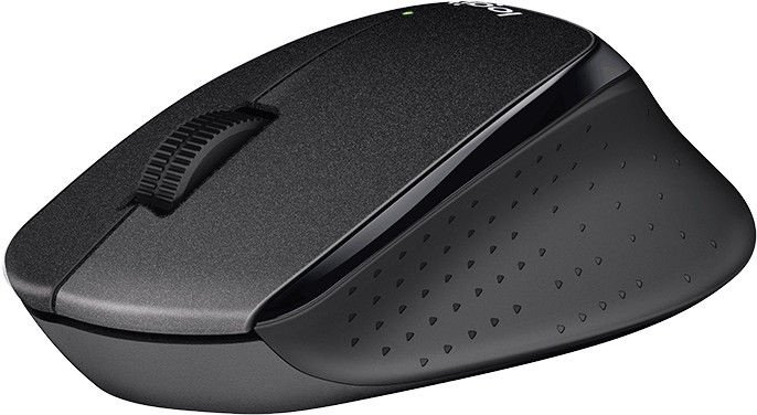 Logitech M330 Silent Plus Mouse Black