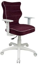 Bērnu krēsls Entelo Duo VS07, balta/violeta, 370 mm x 1000 mm