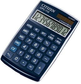 Citizen Calculator CPC 112BLWB