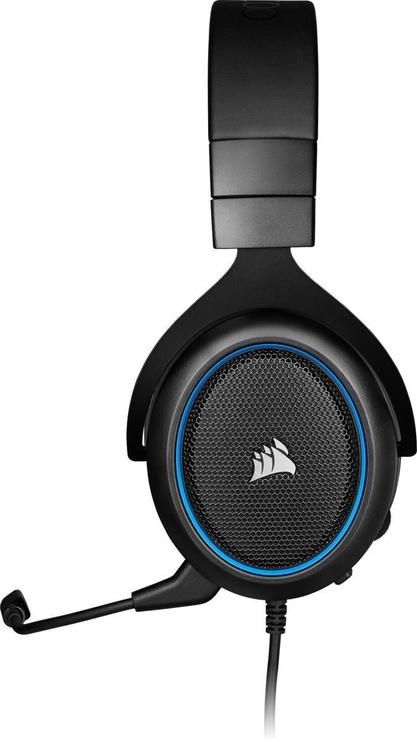Corsair HS50 Pro Stereo Gaming Headset Blue (поврежденная упаковка)