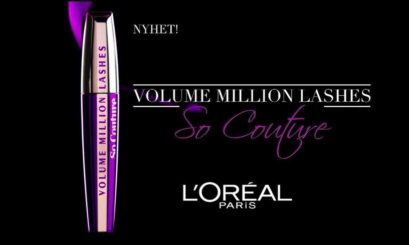 Тушь для ресниц L´Oréal Paris Volume Million Lashes Black