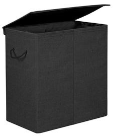 Songmics Laundry Basket 60x36x66cm Black