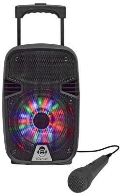 Bezvadu skaļrunis iDance Groove 214 Black, 100 W