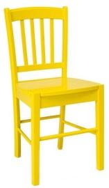 Ēdamistabas krēsls Signal Meble CD-57 Yellow, 1 gab.