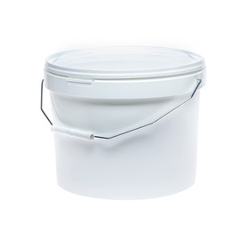 SN Bucket With Lid And Handle 10l White