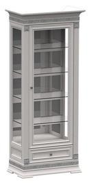 Zov SV1-80 Display Case Bianco Silver