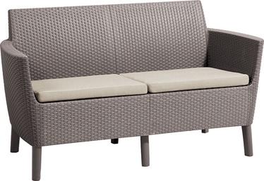 Dārza dīvāns Keter Salemo 2 Seater, smilškrāsas