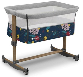 Детская кроватка Lionelo Leonie, синий