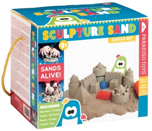 Kinētiskās smiltis Paradiso Sculpture Sand Castle Set, 2 kg