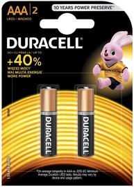 Elements Duracell Alkaline Long Lasting Power Batteries 2xAAA