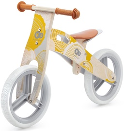 Балансирующий велосипед KinderKraft Runner KRRUNN00YEL0000, желтый, 12″