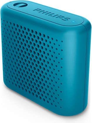 Bezvadu skaļrunis Philips BT55 Blue, 2 W