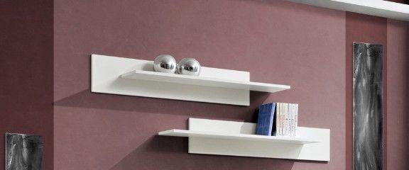 ASM Mix Hanging Shelf 2pcs White