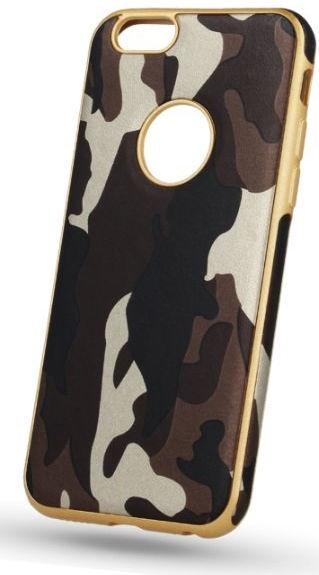 Mocco Army Back Case For Samsung Galaxy S8 Brown