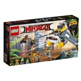 Konstruktors LEGO Ninjago Manta Ray Bomber 70609 70609, 341 gab.