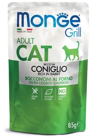Monge Grill Pouch Chunkies In Jelly Rich In Rabbit Adult 85g