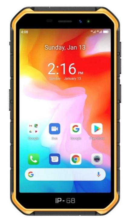 Mobilais telefons Ulefone Armor X7, oranža, 2GB/16GB