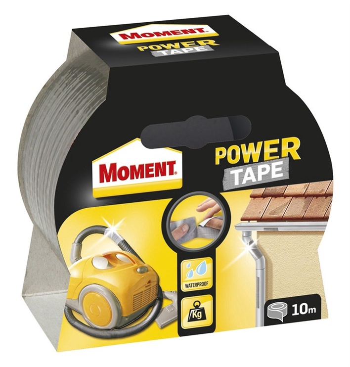 LĪMLENTEMOMENT POWER TAPE 10m SUDRABA