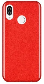 Wozinsky Glitter Shining Back Case For Samsung Galaxy A9 Red