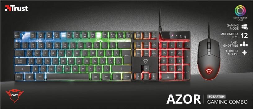 Spēļu tastatūra Trust GXT 838 Azor