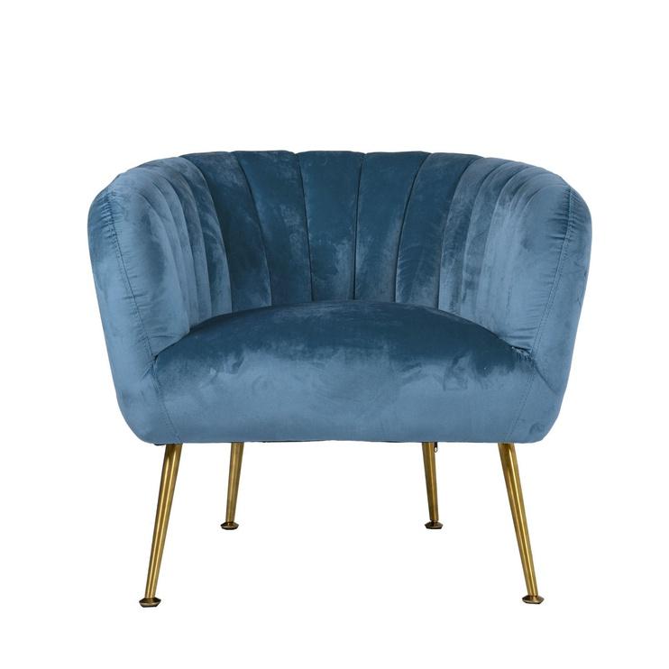 Home4you Tucker Armchair Blue