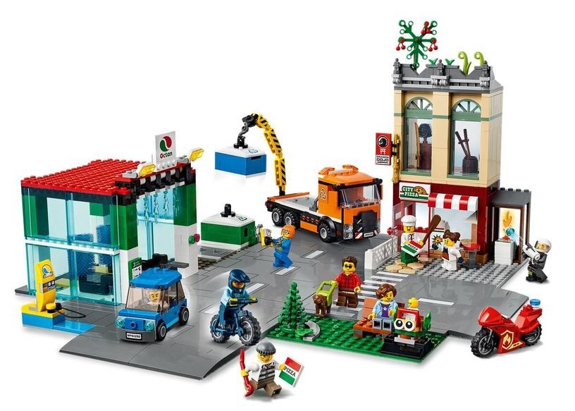 Constructor LEGO City Town Center 60292