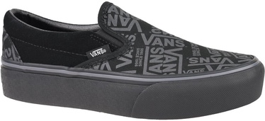 Vans 66 Classic Slip On Platform Shoes VN0A3JEZWW0 Black 40