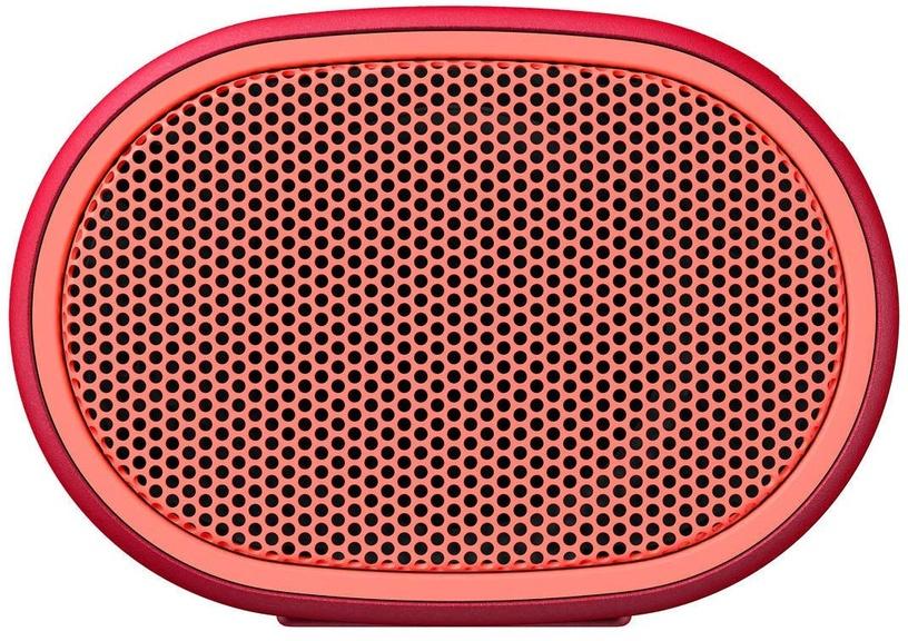 Bezvadu skaļrunis Sony SRS-XB01 Red, 3 W