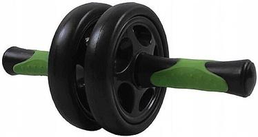 SportVida Fitness Double Roller 14.5cm Green