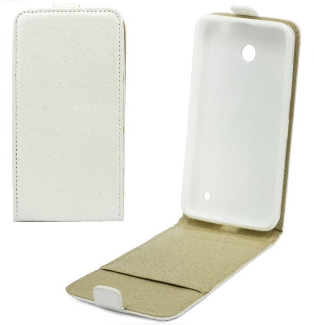 Telone Shine Pocket Slim Flip Case Samsung G530 Galaxy Grand Prime White