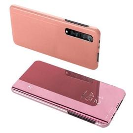 Hurtel Clear View Case For Xiaomi Mi Note 10 Lite Pink