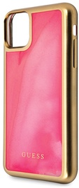 Guess Glow In The Dark Back Case For Apple iPhone 11 Pink