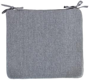 Krēslu spilveni Home4you Simple Grey Chair Cover 38x43x2.5cm