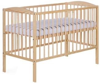Bērnu gulta Klups Radek II Pine, 120x60 cm