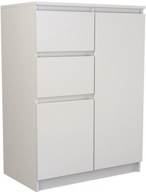 Top E Shop Chest of 2 Doors 2 Drawers White