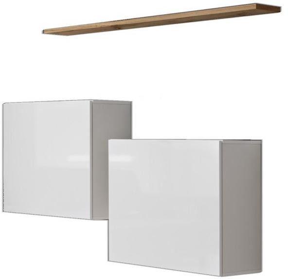 ASM Switch SB I Hanging Cabinet/Shelf Set White/Wotan