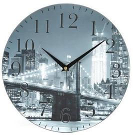 Platinet City Wall Clock Grey