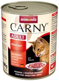 Mitrā kaķu barība (konservi) Animonda Carny Adult Beef 800g