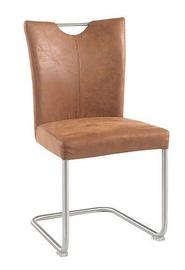 Ēdamistabas krēsls Black Red White Lea Bronze