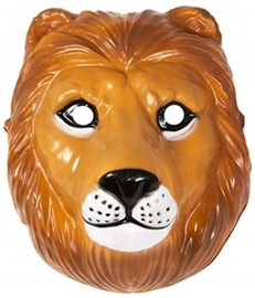 Маска Lion, коричневый, 220 мм