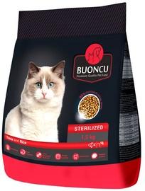Sausā kaķu barība Buoncu Sterilized Cats Tuna And Rice 1.5kg