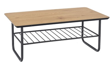 Kafijas galdiņš Halmar Grillo Golden Oak/Black, 1100x600x450 mm