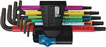 Wera Multicolour Torx Angle Key Set 9pcs
