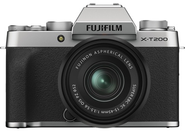 Sistēmas fotoaparāts Fujifilm X-T200 + 15-45mm Lens Silver