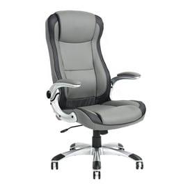 Biroja krēsls Brian Grey, 63x68x113-121 cm